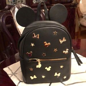 NEW Disney by Primark Mickey & Minnie Backpack Bag